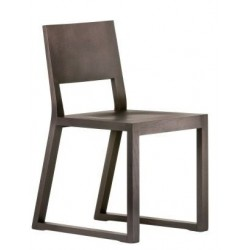 Chaise design bois FEEL 450 chene wengué