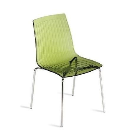Chaise de restaurant design X-TREME vert