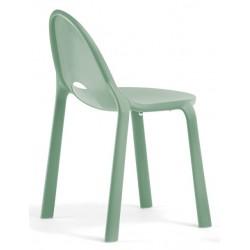 Chaise Drop verte