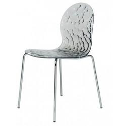 Chaise design transparente BUBBLE