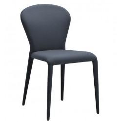 Chaise de salle a manger en cuir PLUS moderne