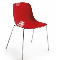 Chaise rouge design PURE LOOP par INFINITI