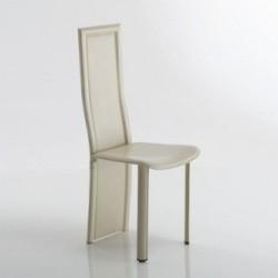Chaise moderne en cuir SYDNEY par Fabris Adriano