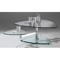 Table basse transparente BORDEAUX