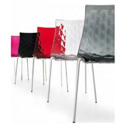 Lot de 2 Chaises design ICE par CALLIGARIS transparente