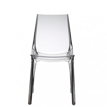 Chaise design transparente VANITY
