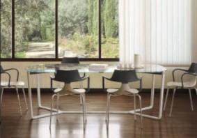 Chaise de salle à manger design en plastique Punk